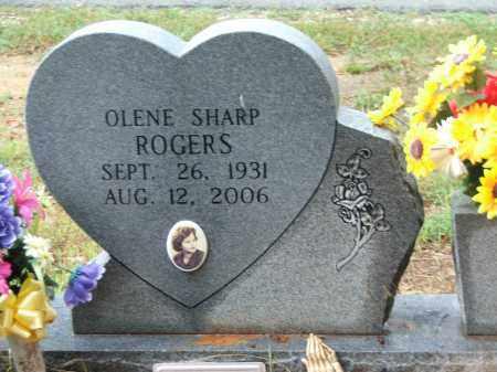 ROGERS, OLENE SHARP VOYLES - Lawrence County, Arkansas | OLENE SHARP VOYLES ROGERS - Arkansas Gravestone Photos