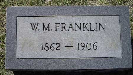 FRANKLIN, WILLIAM M. - Lawrence County, Arkansas | WILLIAM M. FRANKLIN - Arkansas Gravestone Photos
