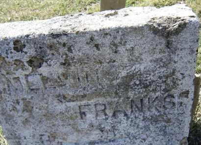 FRANKS, MELINE - Lawrence County, Arkansas   MELINE FRANKS - Arkansas Gravestone Photos