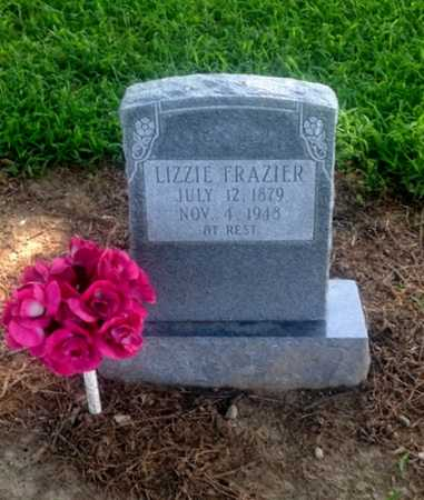 FRAZIER, LIZZIE - Lawrence County, Arkansas | LIZZIE FRAZIER - Arkansas Gravestone Photos