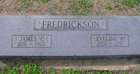 FREDRICKSON, EVELINE AMANDA - Lawrence County, Arkansas | EVELINE AMANDA FREDRICKSON - Arkansas Gravestone Photos