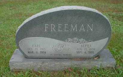 LAWSON FREEMAN, ALPHA BERTHA - Lawrence County, Arkansas | ALPHA BERTHA LAWSON FREEMAN - Arkansas Gravestone Photos