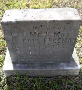 FREEMAN, INFANT SON - Lawrence County, Arkansas | INFANT SON FREEMAN - Arkansas Gravestone Photos