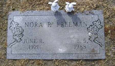 FREEMAN, NORA PEARL - Lawrence County, Arkansas | NORA PEARL FREEMAN - Arkansas Gravestone Photos