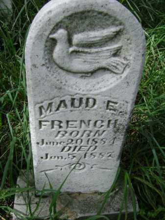 FRENCH, MAUD E. - Lawrence County, Arkansas | MAUD E. FRENCH - Arkansas Gravestone Photos