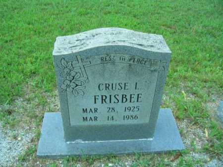 FRISBEE, CRUSE LAVERN - Lawrence County, Arkansas | CRUSE LAVERN FRISBEE - Arkansas Gravestone Photos