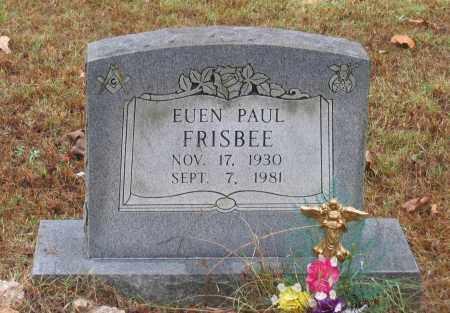 FRISBEE, EUEN PAUL - Lawrence County, Arkansas | EUEN PAUL FRISBEE - Arkansas Gravestone Photos