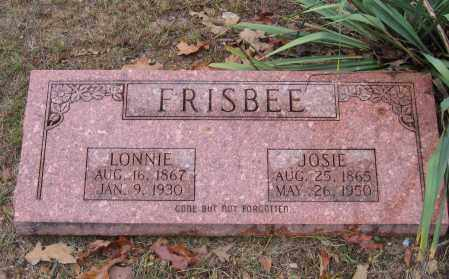 "FRISBEE, LOUISA JOSEPHINE ""JOSIE"" - Lawrence County, Arkansas 