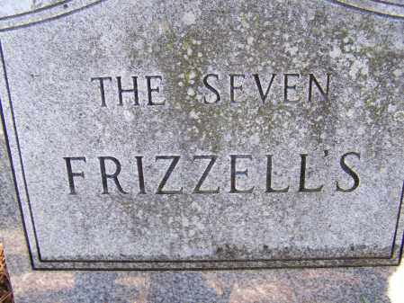 FRIZZELL FAMILY STONE,  - Lawrence County, Arkansas |  FRIZZELL FAMILY STONE - Arkansas Gravestone Photos