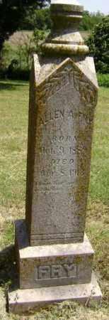 FRY, ALLEN A. - Lawrence County, Arkansas | ALLEN A. FRY - Arkansas Gravestone Photos
