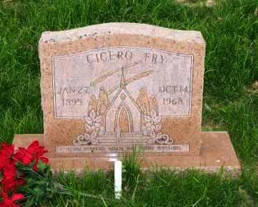 FRY, CICERO - Lawrence County, Arkansas   CICERO FRY - Arkansas Gravestone Photos