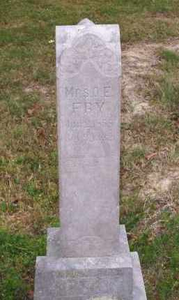 FRY, MRS. O. E. - Lawrence County, Arkansas | MRS. O. E. FRY - Arkansas Gravestone Photos