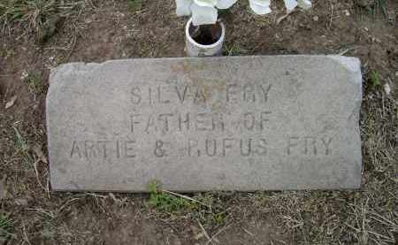 FRY, SILVA - Lawrence County, Arkansas | SILVA FRY - Arkansas Gravestone Photos