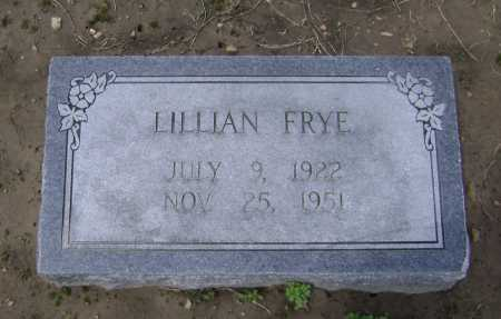 FRYE, LILLIAN - Lawrence County, Arkansas | LILLIAN FRYE - Arkansas Gravestone Photos