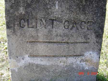 "GAGE, CLINTON L. ""CLINT"" - Lawrence County, Arkansas 