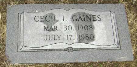 GAINES, CECIL LLOYD - Lawrence County, Arkansas | CECIL LLOYD GAINES - Arkansas Gravestone Photos