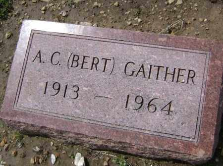 "GAITHER, A. C. ""BERT"" - Lawrence County, Arkansas 
