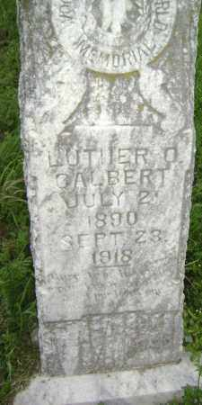 GALBERT, LUTHER O - Lawrence County, Arkansas | LUTHER O GALBERT - Arkansas Gravestone Photos
