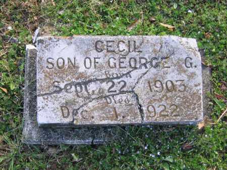 GALBRAITH, CECIL - Lawrence County, Arkansas | CECIL GALBRAITH - Arkansas Gravestone Photos