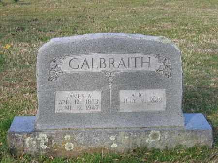 GALBRAITH, ALICE J. - Lawrence County, Arkansas | ALICE J. GALBRAITH - Arkansas Gravestone Photos