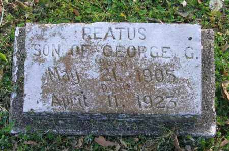 GALBRAITH, REATUS - Lawrence County, Arkansas | REATUS GALBRAITH - Arkansas Gravestone Photos