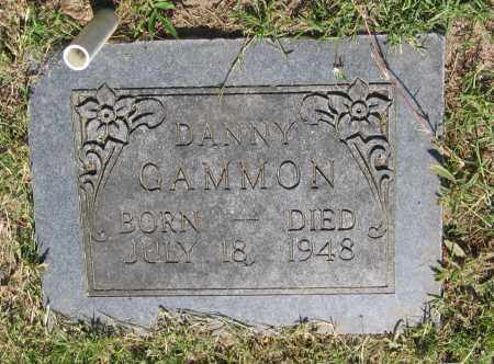 GAMMON, DANNY - Lawrence County, Arkansas | DANNY GAMMON - Arkansas Gravestone Photos