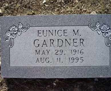 GARDNER, EUNICE M. - Lawrence County, Arkansas | EUNICE M. GARDNER - Arkansas Gravestone Photos