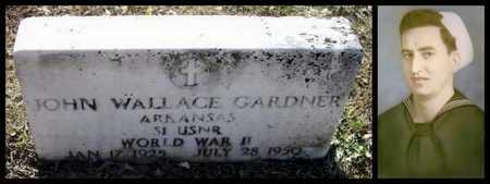 GARDNER (VETERAN WWII), JOHN WALLACE - Lawrence County, Arkansas | JOHN WALLACE GARDNER (VETERAN WWII) - Arkansas Gravestone Photos