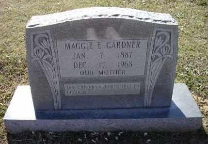MULLEN GARDNER, MAGGIE E. - Lawrence County, Arkansas | MAGGIE E. MULLEN GARDNER - Arkansas Gravestone Photos