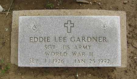 GARDNER (VETERAN WWII), EDDIE LEE - Lawrence County, Arkansas | EDDIE LEE GARDNER (VETERAN WWII) - Arkansas Gravestone Photos