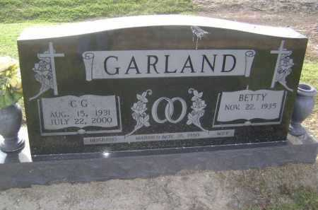 GARLAND, C. G. - Lawrence County, Arkansas | C. G. GARLAND - Arkansas Gravestone Photos