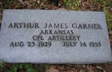 GARNER (VETERAN), ARTHUR JAMES - Lawrence County, Arkansas | ARTHUR JAMES GARNER (VETERAN) - Arkansas Gravestone Photos