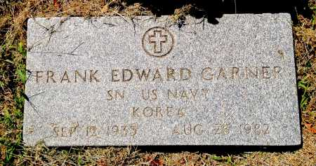 GARNER (VETERAN KOR), FRANK EDWARD - Lawrence County, Arkansas | FRANK EDWARD GARNER (VETERAN KOR) - Arkansas Gravestone Photos