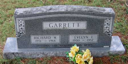 GARRETT, EVELYN INEZ - Lawrence County, Arkansas | EVELYN INEZ GARRETT - Arkansas Gravestone Photos