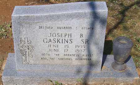 GASKINS, SR., JOSEPH B. - Lawrence County, Arkansas | JOSEPH B. GASKINS, SR. - Arkansas Gravestone Photos