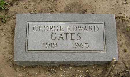 GATES, GEORGE EDWARD - Lawrence County, Arkansas | GEORGE EDWARD GATES - Arkansas Gravestone Photos