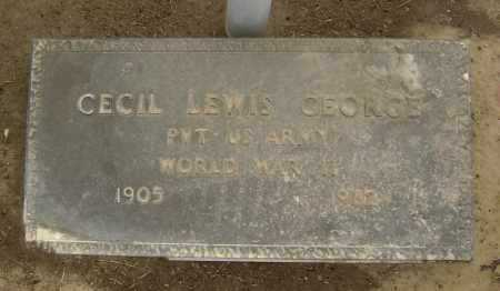 GEORGE  (VETERAN WWII), CECIL LEWIS - Lawrence County, Arkansas | CECIL LEWIS GEORGE  (VETERAN WWII) - Arkansas Gravestone Photos