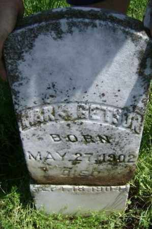 GETSON, MARK - Lawrence County, Arkansas | MARK GETSON - Arkansas Gravestone Photos