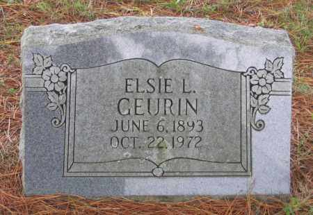 GEURIN, ELSIE L. - Lawrence County, Arkansas | ELSIE L. GEURIN - Arkansas Gravestone Photos