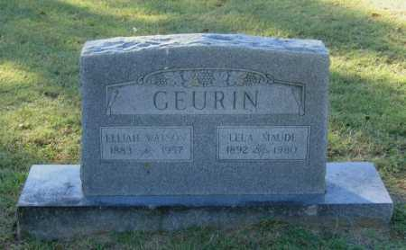 SMITH GEURIN, LELA MAUDE - Lawrence County, Arkansas | LELA MAUDE SMITH GEURIN - Arkansas Gravestone Photos