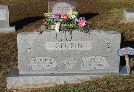 MASSEY GEURIN, BERTHA - Lawrence County, Arkansas | BERTHA MASSEY GEURIN - Arkansas Gravestone Photos