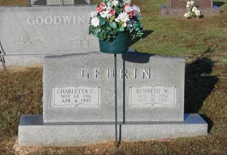 GEURIN, KENNETH WILBURN - Lawrence County, Arkansas | KENNETH WILBURN GEURIN - Arkansas Gravestone Photos