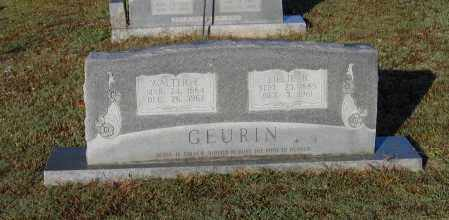 GEURIN, LILLIE BLANCHE - Lawrence County, Arkansas | LILLIE BLANCHE GEURIN - Arkansas Gravestone Photos