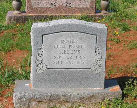PICKETT GIBBENS, ETHEL LINDSAY - Lawrence County, Arkansas | ETHEL LINDSAY PICKETT GIBBENS - Arkansas Gravestone Photos