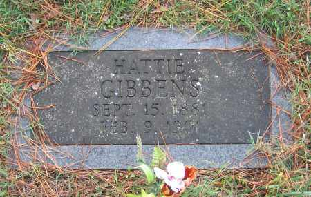 GIBBENS, HATTIE - Lawrence County, Arkansas | HATTIE GIBBENS - Arkansas Gravestone Photos