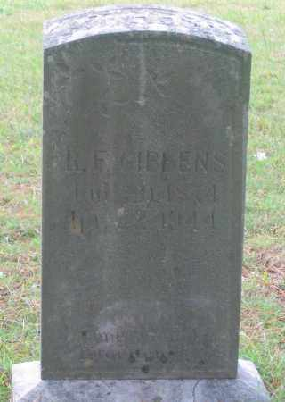 GIBBENS, ROBERT FRANKLIN - Lawrence County, Arkansas | ROBERT FRANKLIN GIBBENS - Arkansas Gravestone Photos