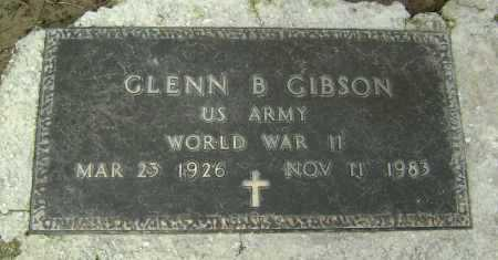 GIBSON  (VETERAN WWII), GLENN B. - Lawrence County, Arkansas | GLENN B. GIBSON  (VETERAN WWII) - Arkansas Gravestone Photos