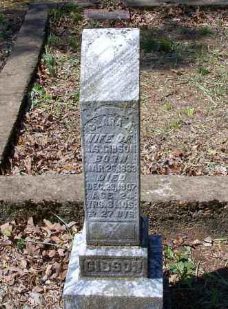 "GIBSON, CLARISSA A. ""CLARA"" - Lawrence County, Arkansas | CLARISSA A. ""CLARA"" GIBSON - Arkansas Gravestone Photos"