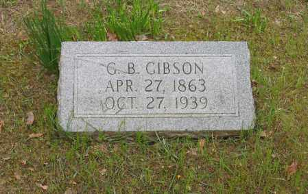GIBSON, G. B. - Lawrence County, Arkansas | G. B. GIBSON - Arkansas Gravestone Photos