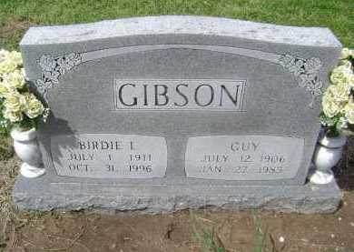 GIBSON, GUY - Lawrence County, Arkansas | GUY GIBSON - Arkansas Gravestone Photos